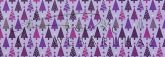 Kartonpapír - Karácsony Lila fenyőfák, mozaik mintás karton, 29,5x20cm, 1 lap