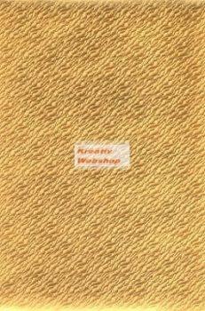 Holografikus kartonpapír - Arany hullámzó homok mintával, 20x30 cm, 5 lap/csomag