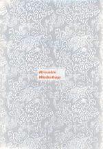 Holografikus kartonpapír - Ezüst fantázia mintával, 20x30 cm, 1 lap