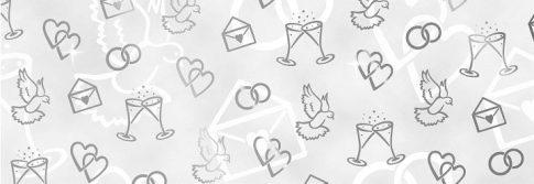 Kartonpapír - Esküvői metálfényű ezüst színnel dombornyomott mintás karton, A4 - 25 lap
