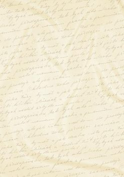 Kartonpapír - Esküvői Starlight karton, arany és krém kézírás mintás metál karton, A4 - 5 lap