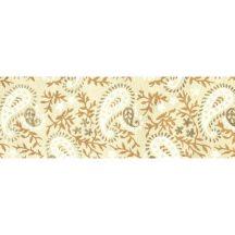 Dekorpapír - India style Tariq 02 motívum, kézzel készített  papír, bézs-fehér henna