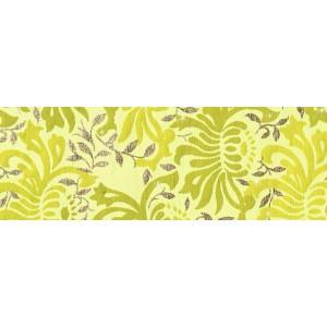 Dekorpapír - India style Harita  01 motívum, kézzel készített  papír, élénkzöld-arany