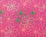 Dekorpapír - India style Rashmika 05 motívum, kézzel készített  papír, Zöld, barackszín