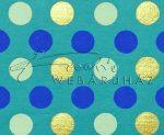 Dekorpapír - India style Garja 02 motívum, kézzel készített Natúr papír, kékes és arany