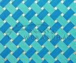 Dekorpapír - India style Garja 05 motívum, kézzel készített Natúr papír, kék szövésminta