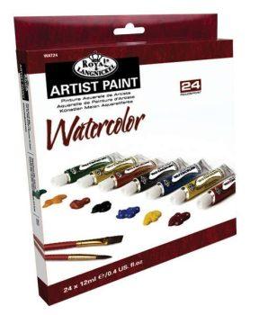 Tubusos akvarellfesték készlet  24 - Royal