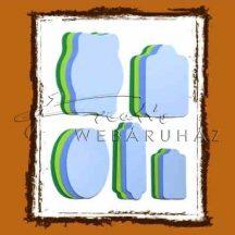 Színes címkék - Világos- és közép lila, sötét- és közép zöld színű címkék - Sárga, narancs, napsárga