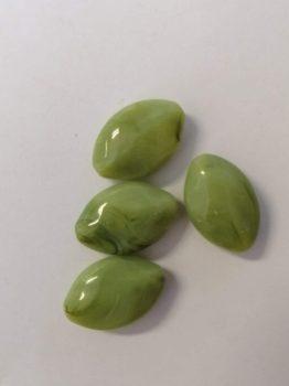 Zöld Akril Kő gyöngy