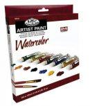 Akvarellfesték készlet