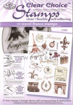Kreatív hobby - Szilikon nyomda - Párizs