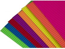 Hullámpapír, különböző színek, 35x25cm