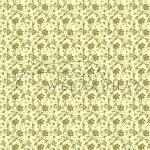 Design Papír - Óarany virágos - cream színű gyöngyház fényű papír 12
