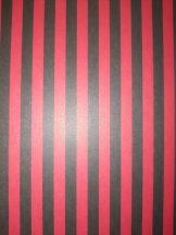 Kartonpapír - Piros-Fekete csíkos Hypnotikus karton, 29,5x20cm, 1 lap