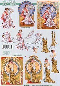 Tiffany hölgyek, Fázisos 3D
