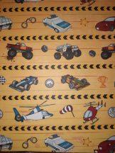 """Kartonpapír - """"Mesevilág"""" Rendőrautó mintás karton 29,5x20cm, 1 lap"""
