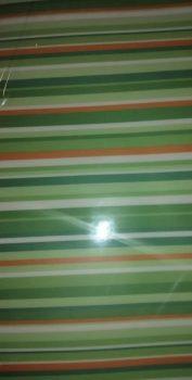Transzparens papír - Vonalas zöld