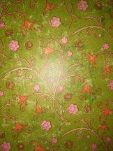 Transzparens papír - Tulipán mintás