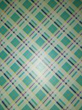 Kartonpapír - Kockás vonalas mintás karton, 1 lap